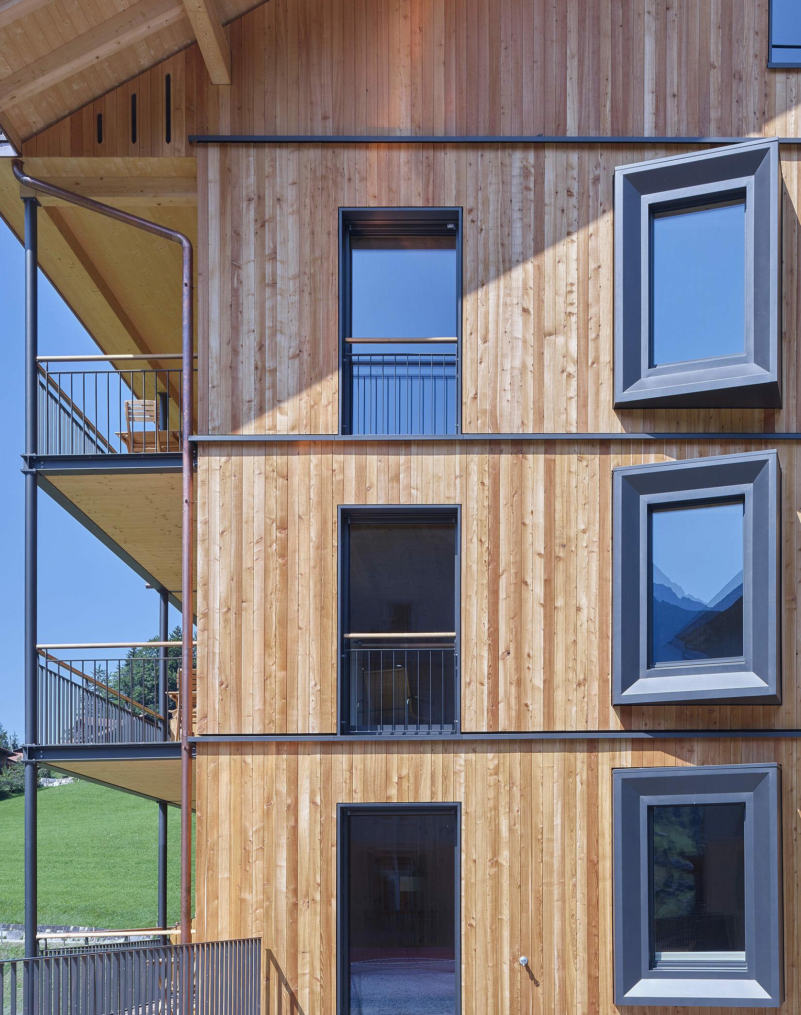 Nachhaltigkeit im Holz100-Retreathaus ChieneHuus